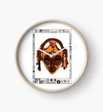 African Mask Reloj