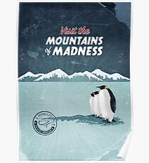 Visit the Mountains of Madness Poster