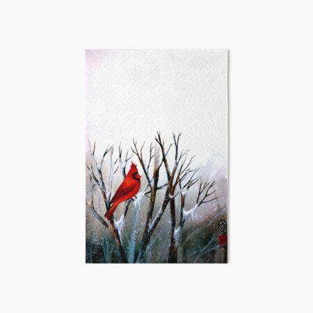 Cardinal.. Art Board Print