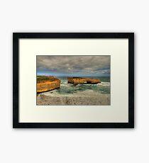 London Bridge - Great Ocean Road - Australia Framed Print