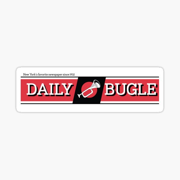 Daily Bugle Sticker