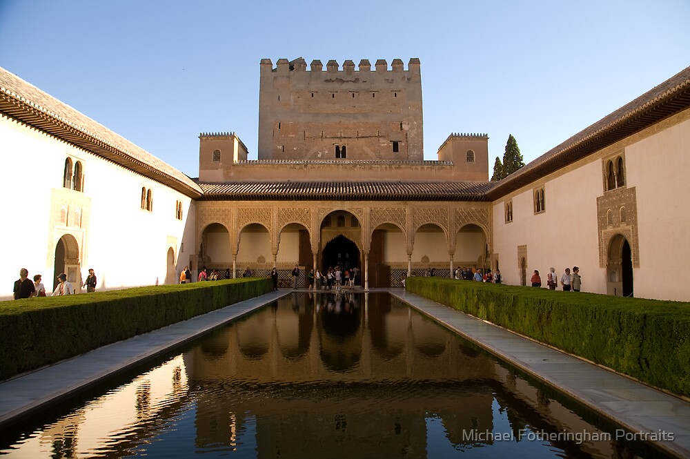 The Alhambra by Michael Fotheringham Portraits