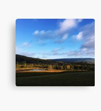 Nature Valley Canvas Print