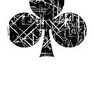 Clubs Sign Playing Cards Clovers Black by quark