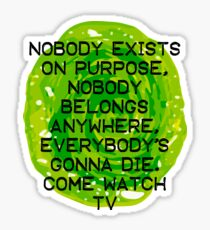 Come watch TV Sticker