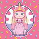 Chibi Princess Bubblegum by enriquev242
