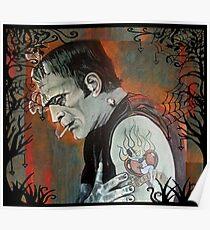 """Frankenstein """"Heartache"""" Poster"""
