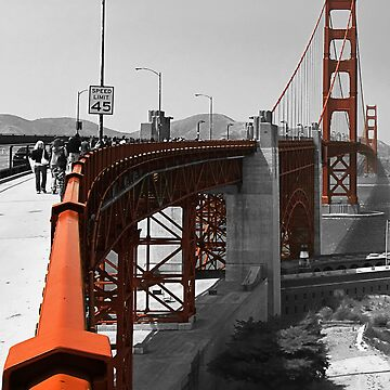 Not so Golden Gate Bridge by farmdogger