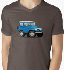 1970 · Toyota FJ40 Land Cruiser  Men's V-Neck T-Shirt