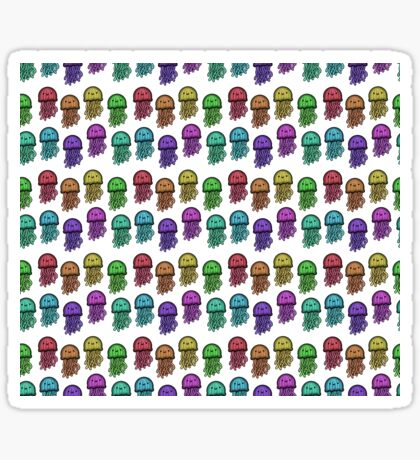 Rainbow Jellyfish  Sticker