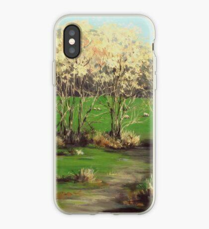 Winter Greens iPhone Case