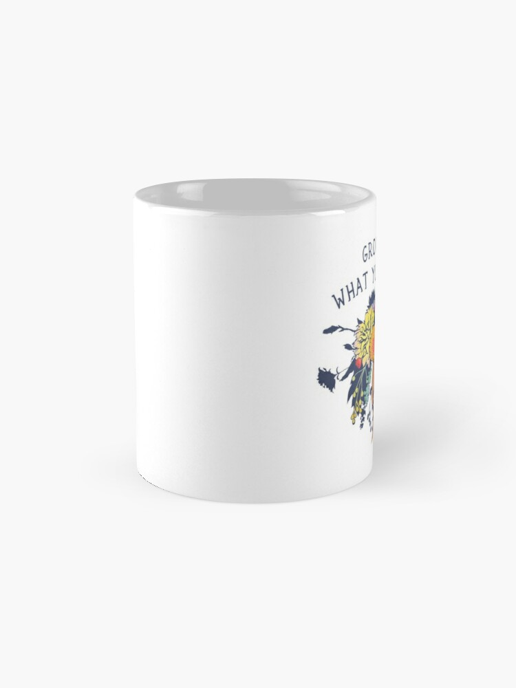 Alternate view of Grow Through What You Go Through Mug