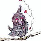 Treetop Love Joan by Eliza Fayle