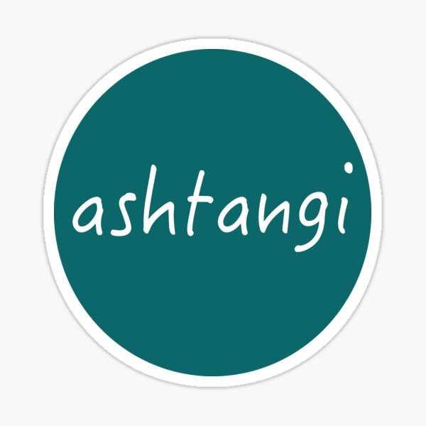 Ashtangi Sticker