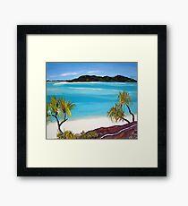 Whitsundays  Framed Print