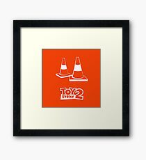 Toy Story 2 Cones Framed Print