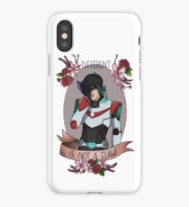 Different is not a flaw iPhone Case/Skin