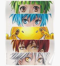Assassination Classroom eyes Poster