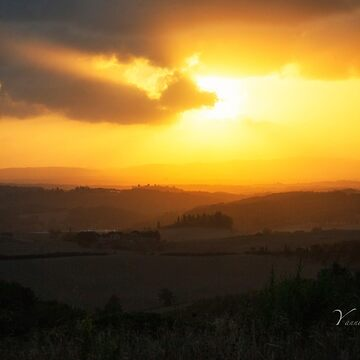 Tuscany Sunset - Italy by Photograph2u