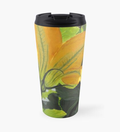 Squash Blossom Travel Mug