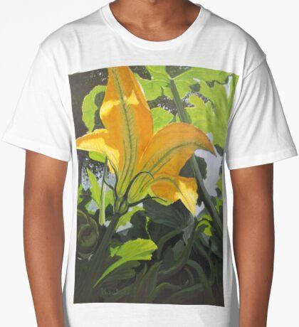 Squash Blossom Long T-Shirt