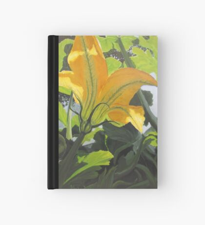 Squash Blossom Hardcover Journal