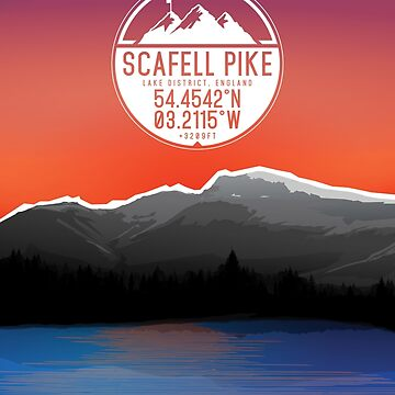 Three Peaks Series : Scafell Pike by alex-banks