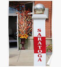 Saratoga  Poster