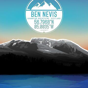 Three Peaks Series : Ben Nevis by alex-banks