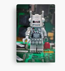 Bad Robot Metal Print