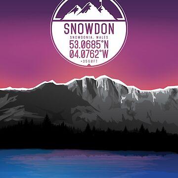 Three Peaks Series : Snowdon by alex-banks