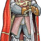 King Edward I by MacKaycartoons