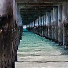Under the boardwalk again... by Patricia Gibson