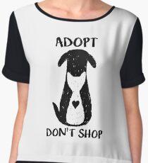 Adopt don't shop Women's Chiffon Top
