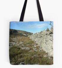 Burren Wall Tote Bag