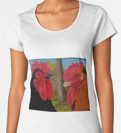 Roosters Women's Premium T-Shirt