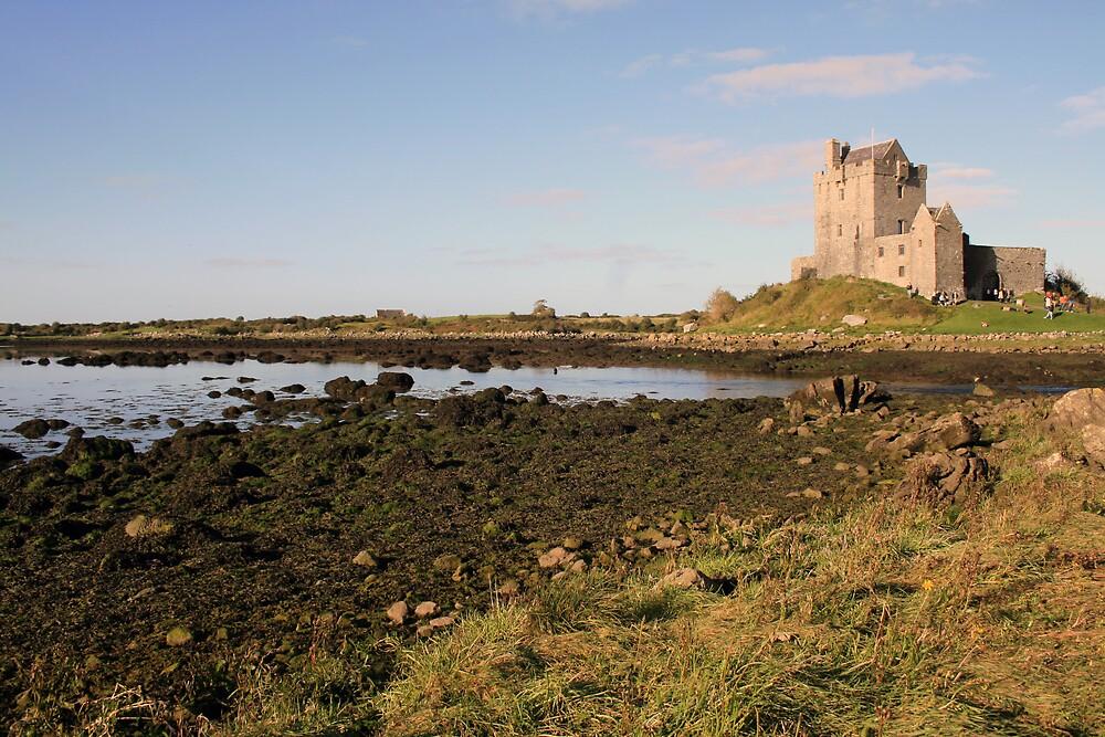 Dunguaire castle evening view by John Quinn