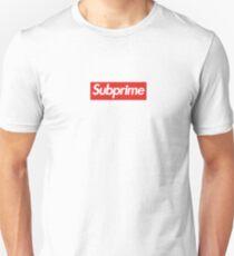 "Wallstreetbets ""SUBPRIME"" Box Logo Unisex T-Shirt"