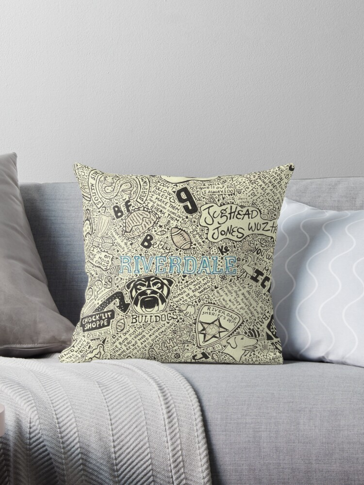 Riverdale Throw Pillows By Divers Redbubble