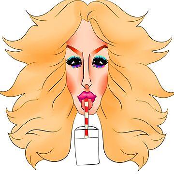 milk - she does a body good grrrll (ru paul's drag race) by handsomedun