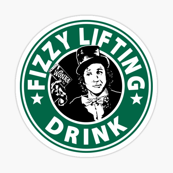Fizzy Lifting Drink Sticker