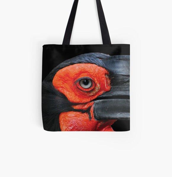 Bird Eye - Hornbill All Over Print Tote Bag