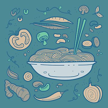 Noodles by TINYGHOST