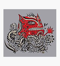 Red Monster Photographic Print