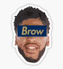 Brow 3 Sticker