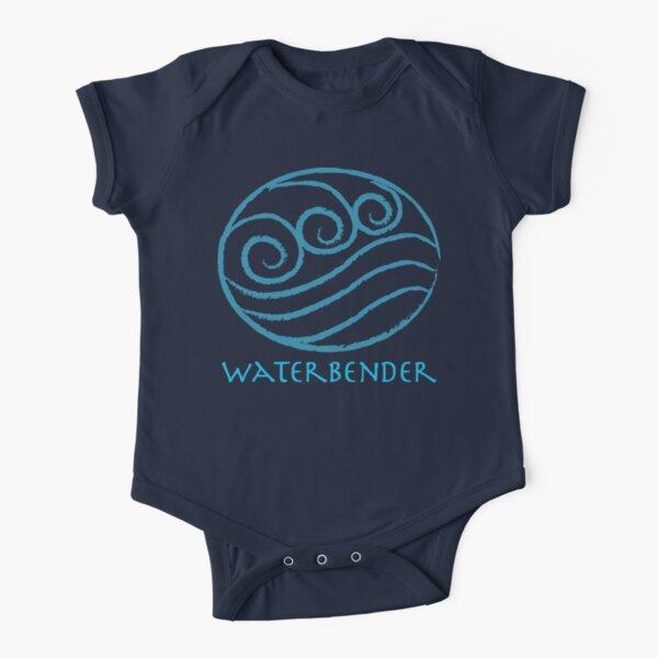 Waterbender Short Sleeve Baby One-Piece