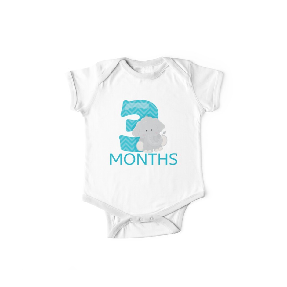 9c7885f44 3 months old! Jungle Safari themed milestone stickers