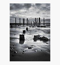 Port Willunga (Black and White) Photographic Print
