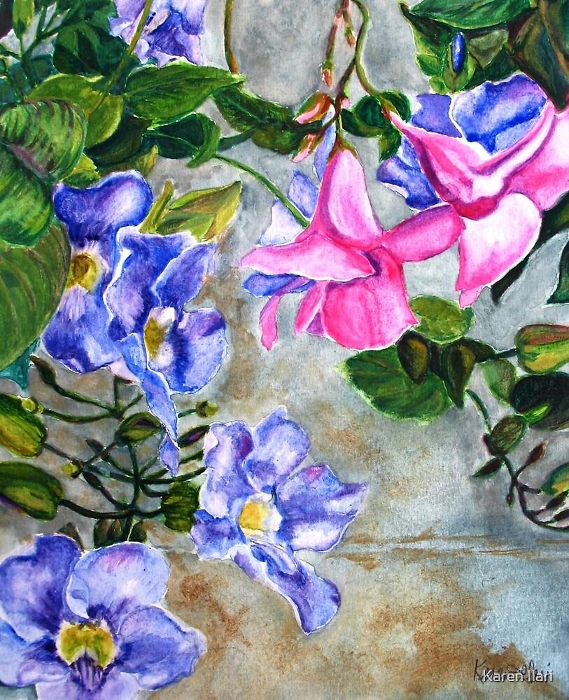 Wallflowers by Karen Ilari