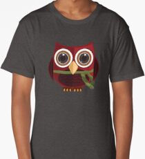 The Red Owl - Totem Long T-Shirt